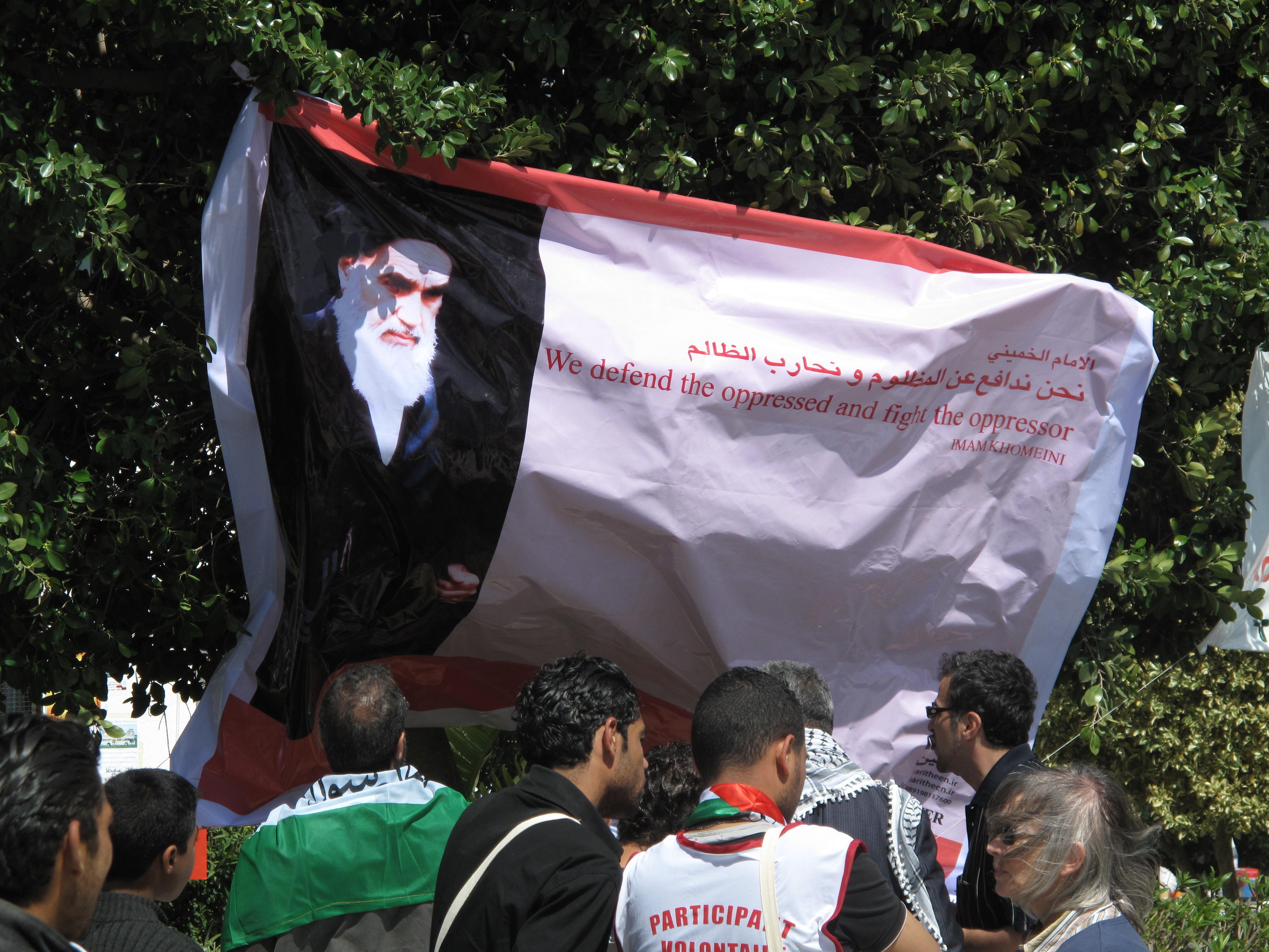 Khomeini-Plakat